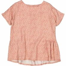 Wheat Rose Flowers Odine Bluse