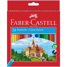 Faber Castell Castle 24 Colour Pencils