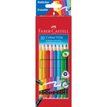 Faber Castell Grip 10 Colour Pencils