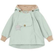 Mini A Ture Fleece Wai Blue Jakke