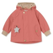 Mini A Ture Fleece Wally Canyon Rose Jakke