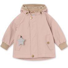 Mini A Ture Fleece Wally Cloudy Rose Jakke