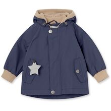 Mini A Ture Fleece Wally Maritime Blue Jakke