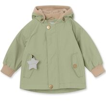 Mini A Ture Fleece Wally Oil Green Jakke