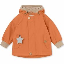 Mini A Ture Fleece Wally Terra Cotta Jakke