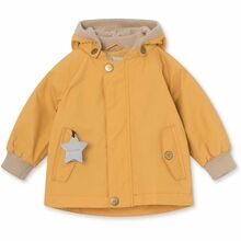 Mini A Ture Fleece Wally Waxed Honey Jakke