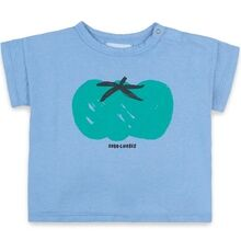Bobo Choses Tomato Short Sleeve T-shirt Blue
