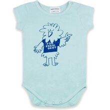 Bobo Choses Bird Says Yes Short Sleeve Body Gossamer Green