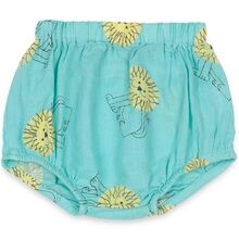 Bobo Choses Pet A Lion All Over Woven Bloomer Gossamer Green