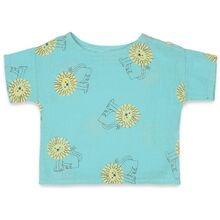 Bobo Choses Pet a Lion All Over Skjorte Gossamer Green