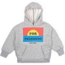 Bobo Choses For President Hoodie Quiet Gray