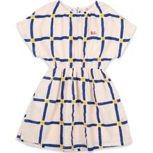 Bobo Choses Cube All Over Woven Dress White Swan