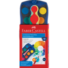 Faber Castell Connector Paint Box 12 Colours