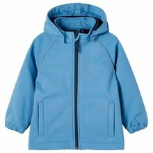 Name it Captains Blue Alfa Magic Softshell Jakke