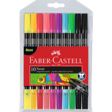 Faber Castell Pens Connector 10 Colours Neon