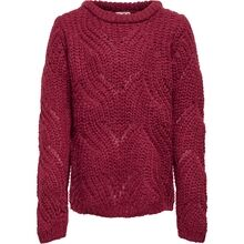 Kids ONLY Rabarbra New Havana L / S Strikket genser