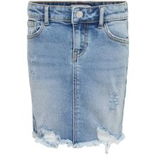 Kids ONLY Light Blue Denim Cara Nederdel