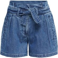 Kids ONLY Medium Blue Denim Fie Life Belt Shorts