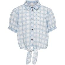 Kids ONLY Blue Fog Cloud Dancer Mila Knot Shirt