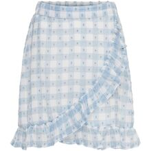 Kids ONLY Blue Fog Cloud Dancer Mila Fake Wrap Skirt