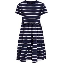 Kids ONLY Peacoat Cloud Dancer Stripes May Life Kjole
