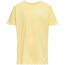 Kids ONLY Mellow Yellow Yolo Naomi T-shirt