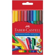 Faber Castell Pens Connector 10 Colours