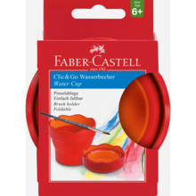 Faber Castell Water Pot Red