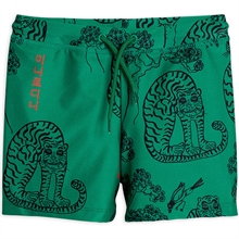 Mini Rodini Tigers Green Badebukse