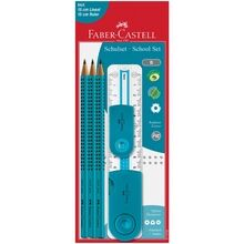 Faber Castell Grip 2001 School Set pencils Turquoise