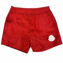Moncler Swim Shorts Boxer Mare Red