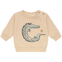 Soft Gallery Crocoball Beige Buzz Genser