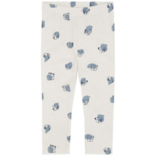 Soft Gallery Light Grey AOP Doggy Paula Leggings