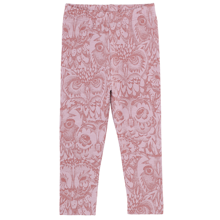 Soft Gallery AOP Owl Lavender Mauve Shadows Paula Baby Leggings