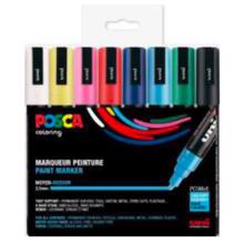 Posca Uni Marker PC-5M 8 Colors