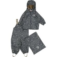 Wheat Rainwear Jacket and Pants with Braces Charlie Ink Maritime