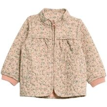 Wheat Termo Eggshell Flowers Jacket Thilde