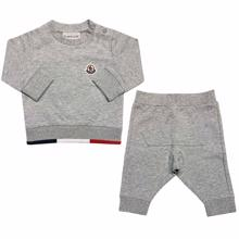 Moncler Completo Maglia Sweat Set Grey