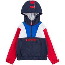 Levi's Colorblock Anorak Jacket Dress Blues