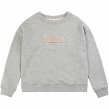 Chloé Sweatshirt Logo Light Chine
