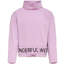 Kids ONLY Orchid Bloom Lauren Life L / S Highneck-genser