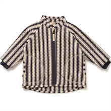 Konges Sløjd Jersey Navy Stripe Thermal Jacket