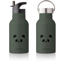 Liewood Anker Water Bottle Panda Hunter Green