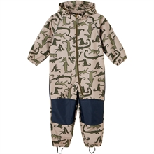 Name it Silver Mink Alfa Crocodile Flight Suit