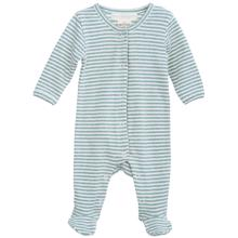 Serendipity Newborn Lake/Offwhite Stripe Full Suit