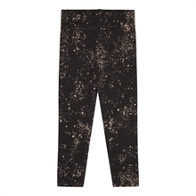 Soft Gallery Jet Black Baby Paula Leggings Mini Splash