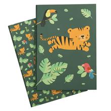 A Little Lovely Company A5 Note Book Jungle Tiger