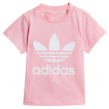 adidas Trefoil Tee Light Pink/White
