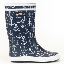 Aigle Lolly Pop Gummistøvler Dark Navy Ancres