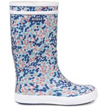 Aigle Lolly Pop Gummistøvler Sandy Blue